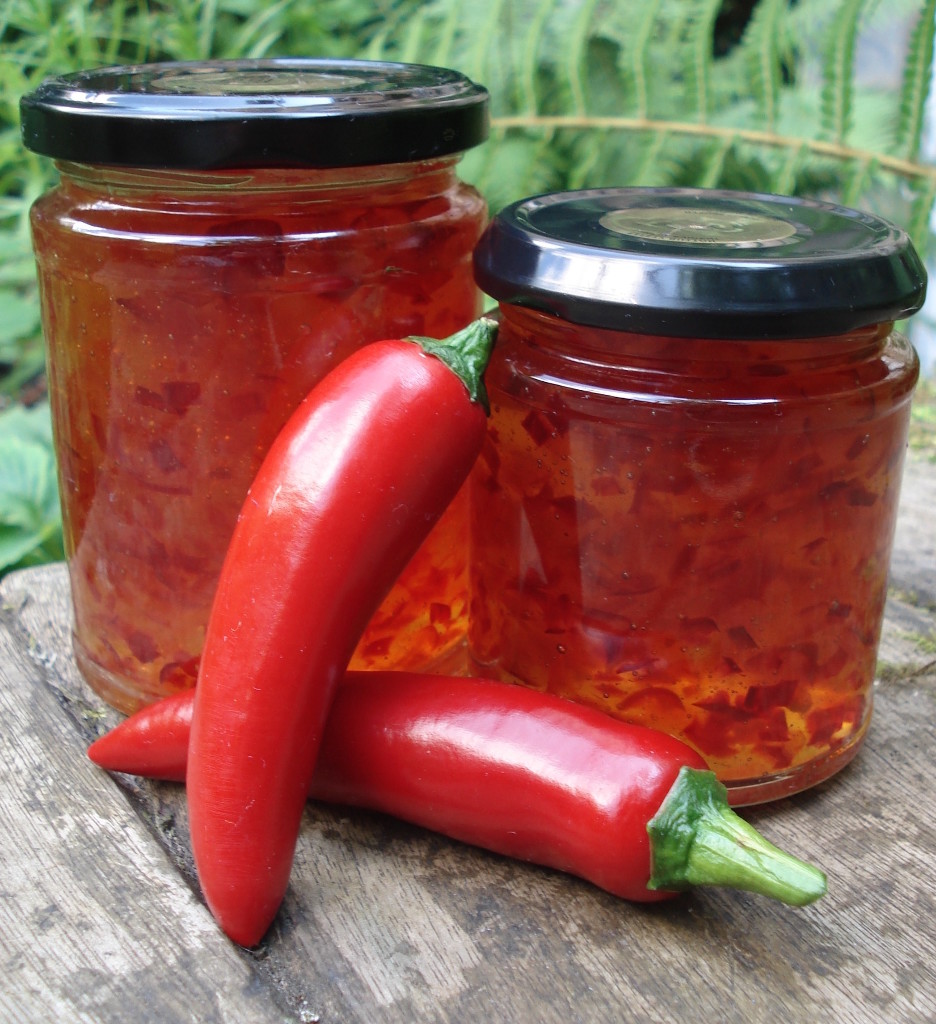 Chilli And Red Pepper Jam Published In Kitchen Garden