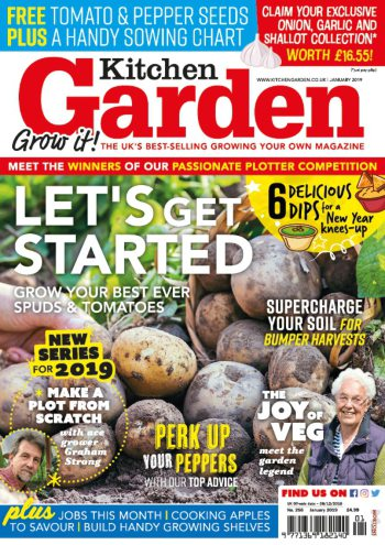 January 2019 Kitchen Garden Out Now Published In Kitchen Garden