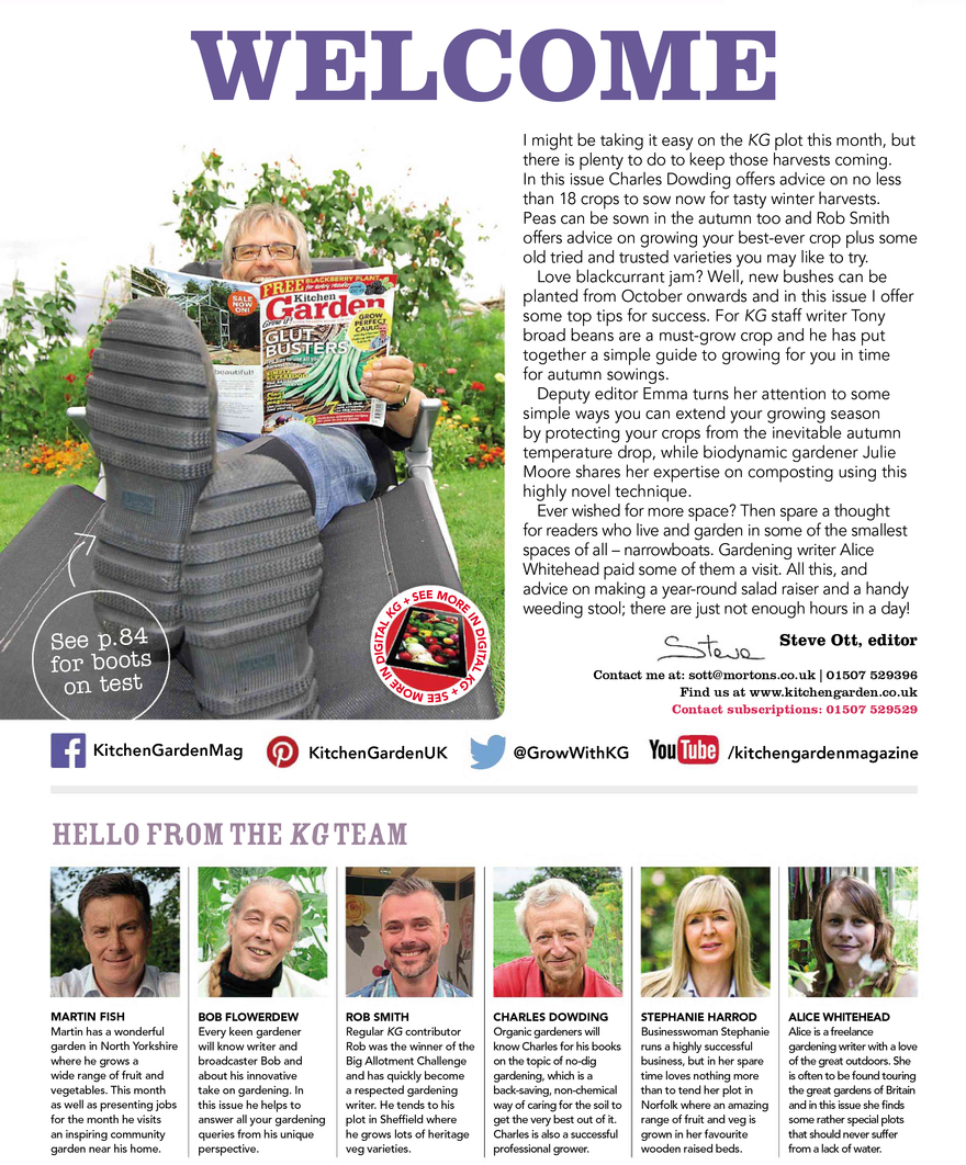 Kitchen Gardener Magazine This Month In Kitchen Garden Published In Kitchen Garden By Rmowbray