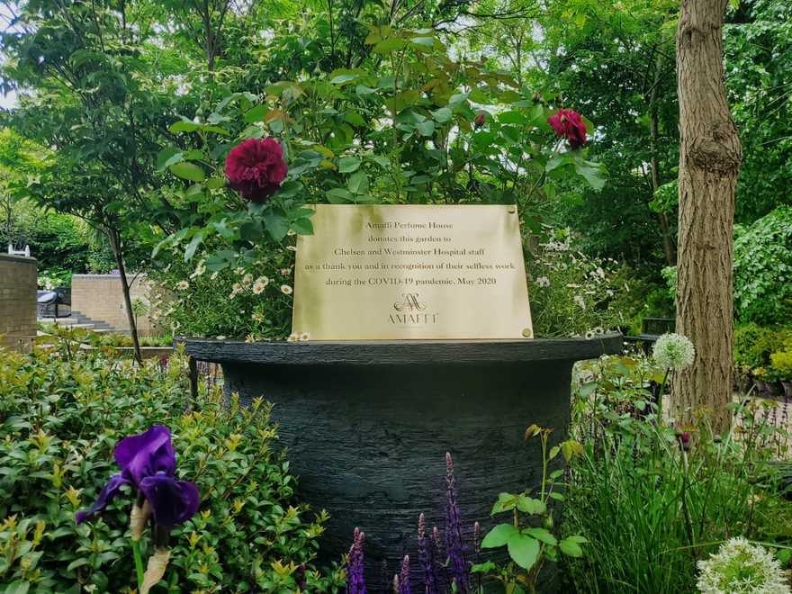 AMAFFI Perfume House's scented garden